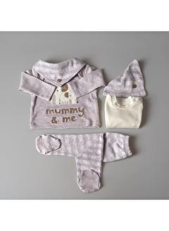 POKY Bebek Zıbın Takımı Filli Mummy Me 5 Parça